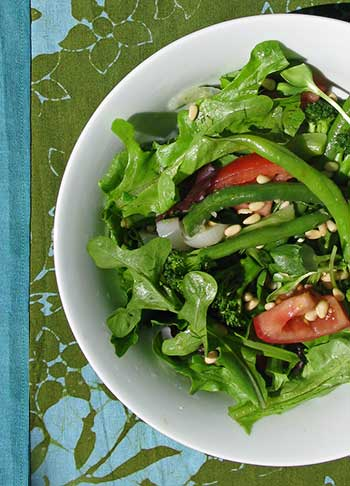 Transitional or Raw Dinner Salad